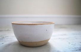 Matt White Stoneware Bowl