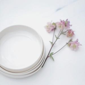 Porcelain Shallow Desert Dishes
